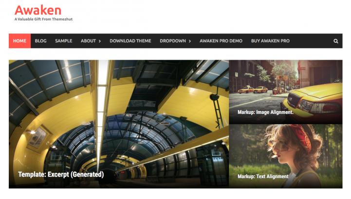 Awaken WordPress Theme Screenshot
