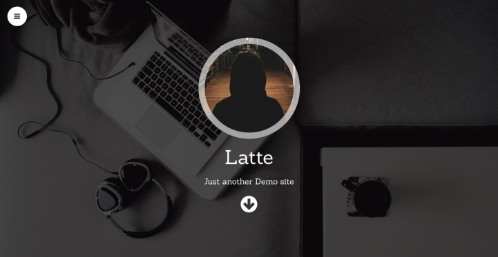 Latte WordPress Theme Screenshot