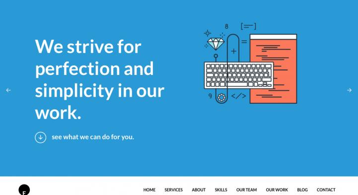 One Engine WordPress Theme Screenshot